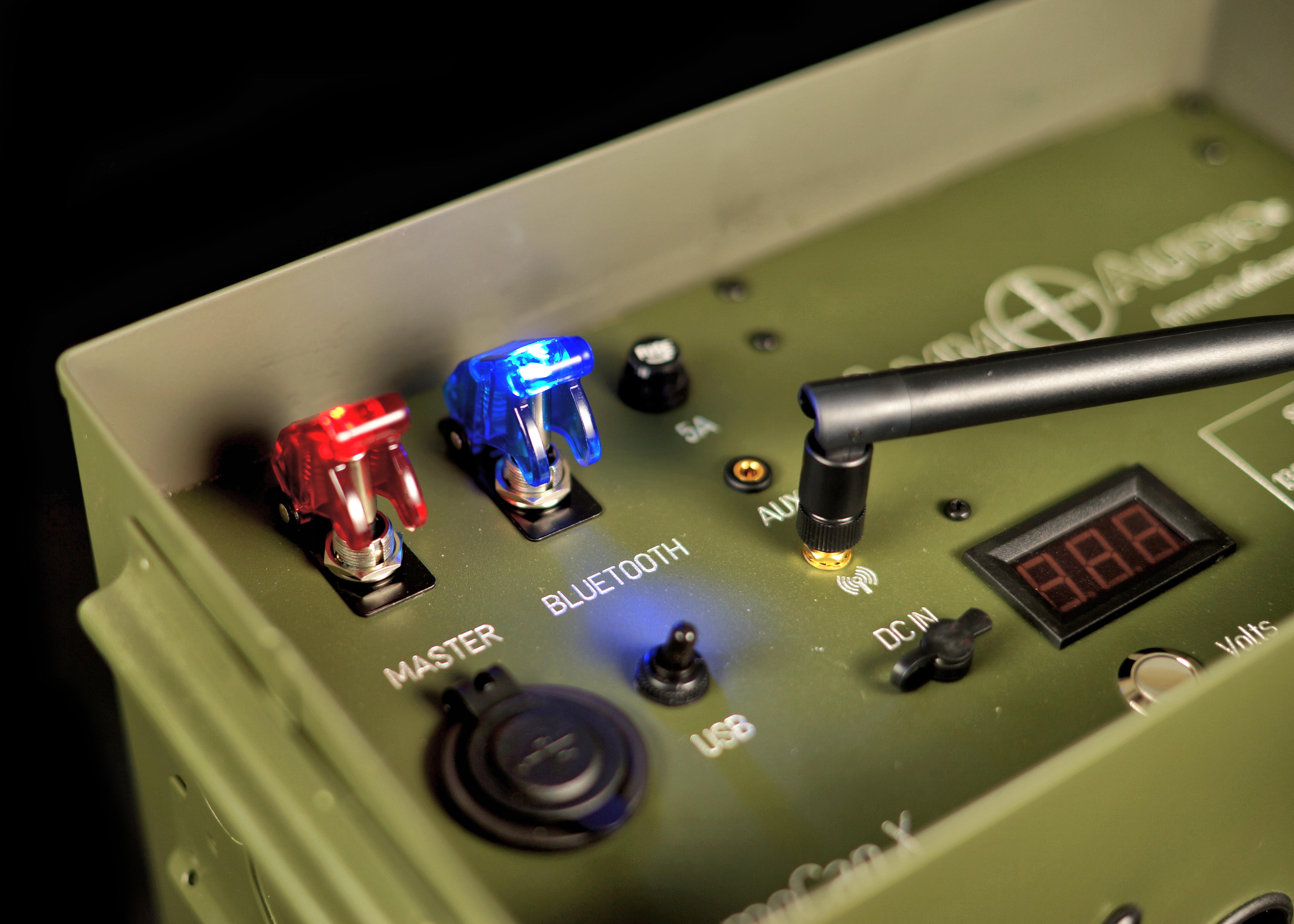 Ammo Can Bluetooth Speaker